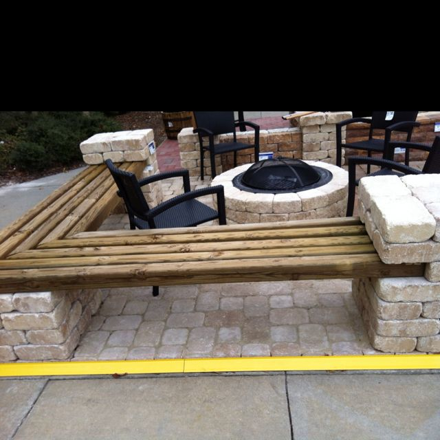 Weatherproof patio furniture, DIY style! - love this for around our firepit....can be put away for the winter!