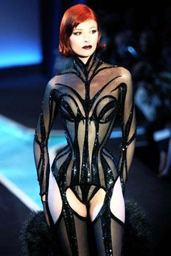 Inspiring...Thierry Mugler Fetish Design.