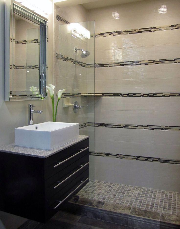 bathrooms basement bathroom modern sink the modern small spa tile trim