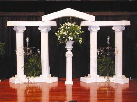 Columns Complete Greek Backdrop Rental Rate 175 00 Greek