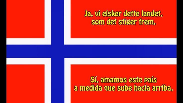 Himno nacional de Noruega - Anthem of Norway (NO/ES letra)