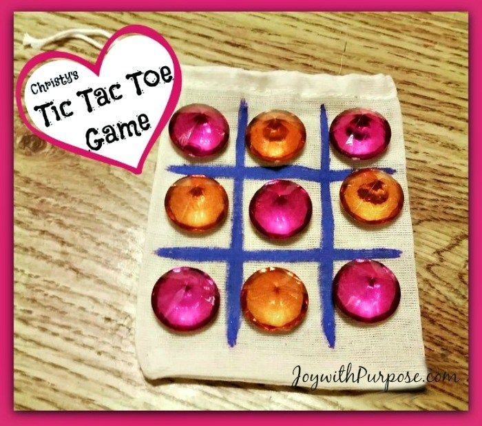 Marvelous Operation Christmas Child Craft Ideas Part - 3: Easy DIY Tic Tac Toe Game Tutorial--perfect For Operation Christmas Child  Shoeboxes.