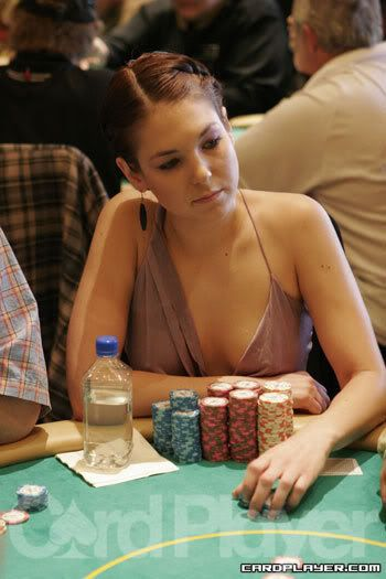 nude poker female players