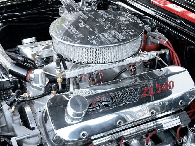Michael Serafine's 1967 Chevy Camaro convertible has a 540-cubic inch aluminum block stuffed with Manley, Eagle and Callies parts. - Super Chevy Magazine