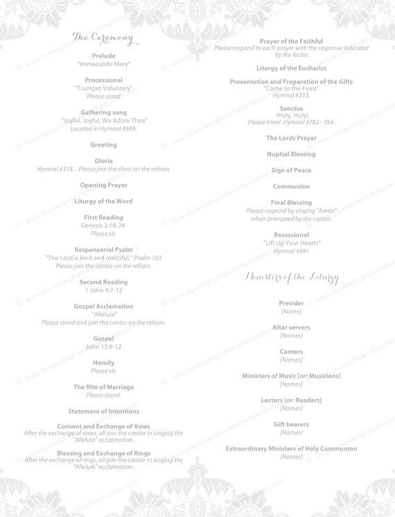 The 25+ best Wedding program template word ideas on Pinterest - sample program templates