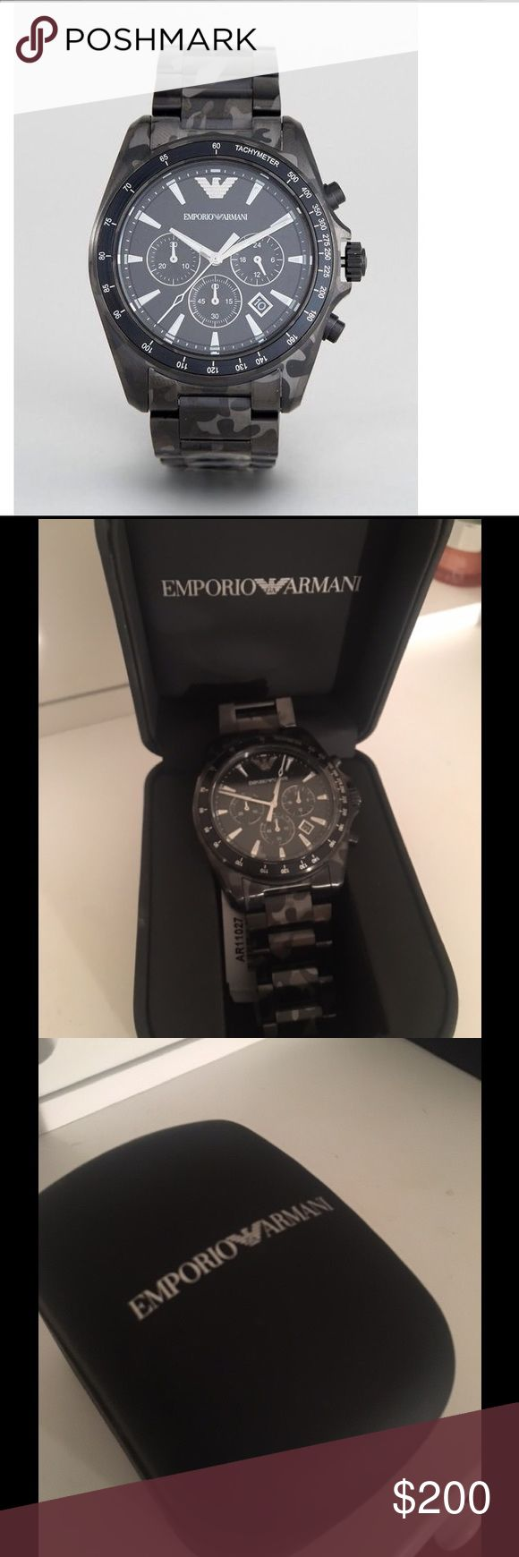 Emporio Armani watch Men's Emporio Armani watch Emporio Armani Accessories Watches