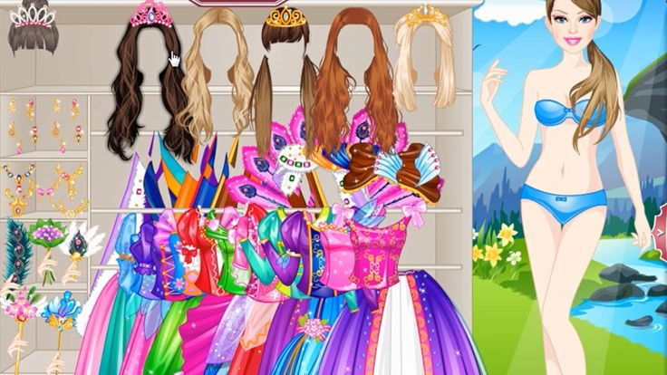 Barbie Games For Girls - Barbie Haircut, Makeup and Dress Up Game - Top ...