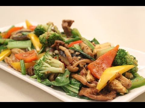 Stir Fried Vegetables | Sanjeev Kapoor Khazana - YouTube