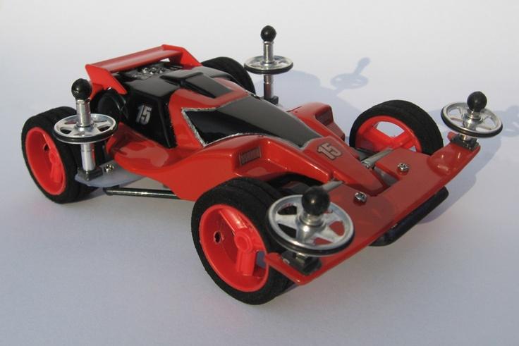 Dash 001 Great Emperor restored by Aran (street version) | Mini 4WD | #Mini4WD | #Tamiya