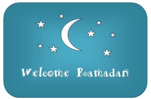 Diary of a Muslim homeschool: Welcome Ramadan pre-school colouring book