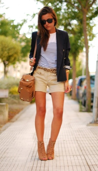preppy never ever gets old.Striped Shirts, Navy Blazers, Clothing, Closets, Summer Outfits, Stripes Shirts, Preppy Outfit, Black Blazers, Style Fashion