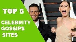 Top 5 Celebrity Gossips Sites