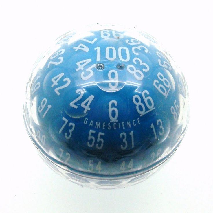 Purple 100 sided die | Dice|GameScience|GameScience Dice|D100|D100 Dice