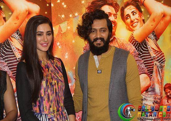 Promotion Of Banjo  #Bollywoodnazar #RiteishDeshmukh #NargisFakhri