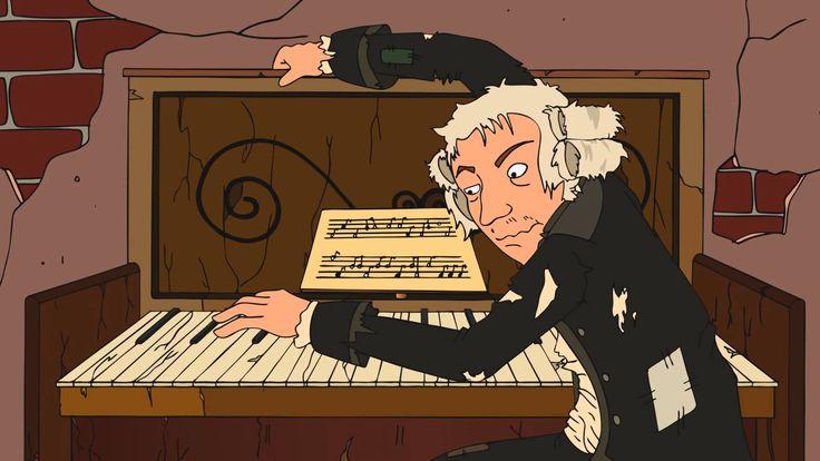 escucha piezas musicales de distintas épocas.