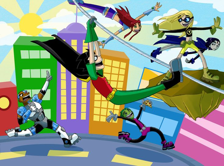 Teen Titans by Monkey-of-the-Dark