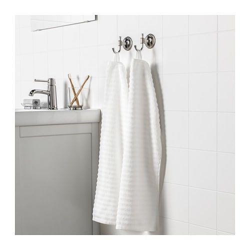 Flodalen Hand Towel White Hand Towels Hand Towels Bathroom