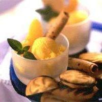 Easy Peach Sorbet | Sweet Treats | Pinterest