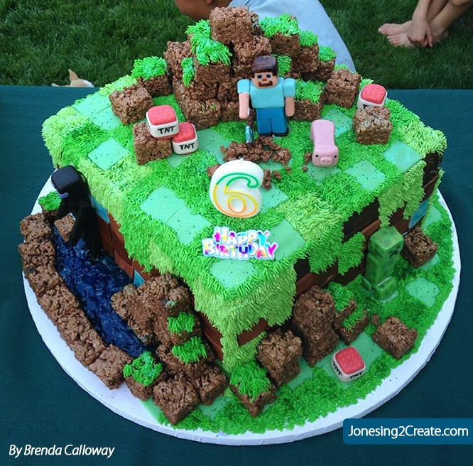 Parties Crafts And Cake Decor Boksburg : 36 best minecraft party images on Pinterest Birthday ...