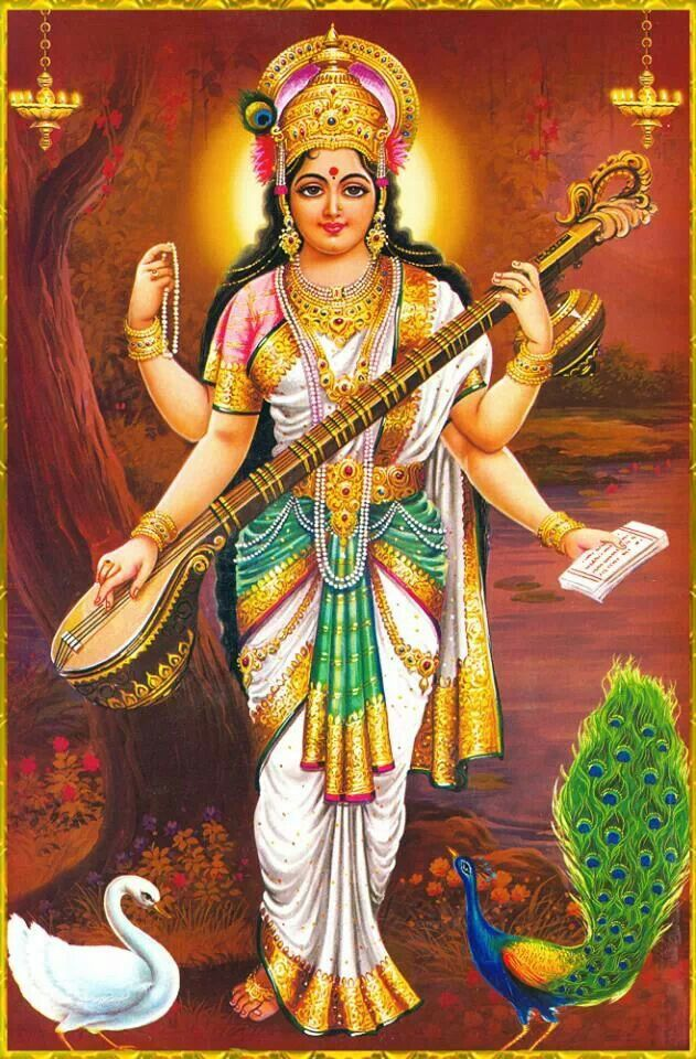 59 best images about hindu goddesses on pinterest hindus creativity and lotus - Images of hindu gods and goddesses ...