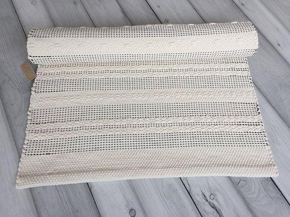 Scandinavian Rug Kitchen Runner Black And White Floor