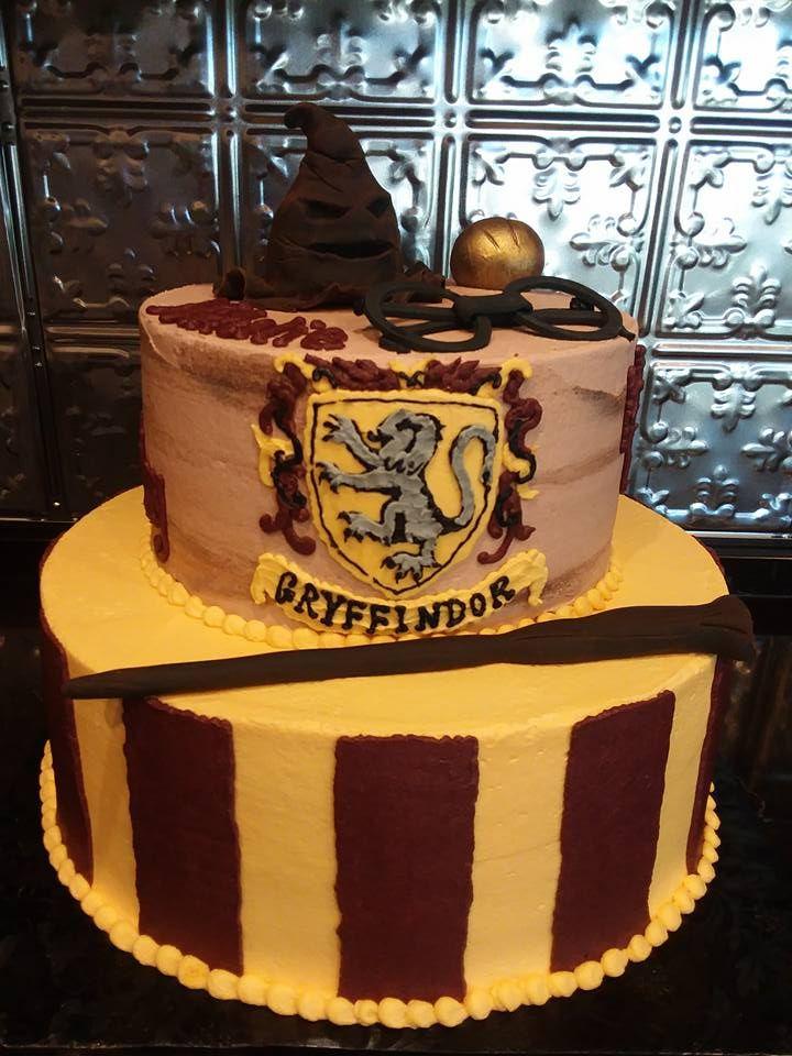 2 Tier Harry Potter Cake Harry Potter Birthday Cake Harry Potter Cake Cake
