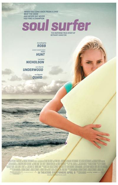 Soul Surfer Bethany Hamilton Biopic Movie Poster 11x17