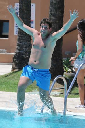 'The Only Way Is Essex' cast in Marbella, Spain - James Argent