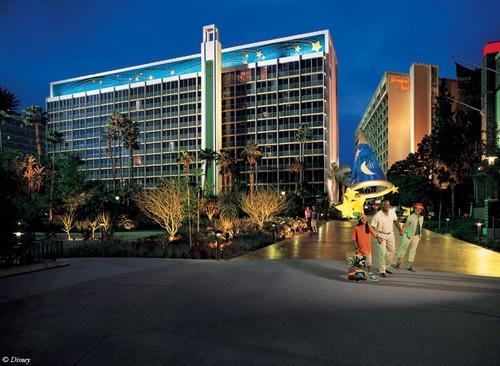 Disneyland Hotel, Disneyland, CA