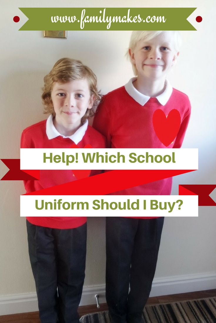 Help! Which School Uniform Should I Buy? Take a look at our comparison of high street stores and supermarkets to help you decide which is the best for you.