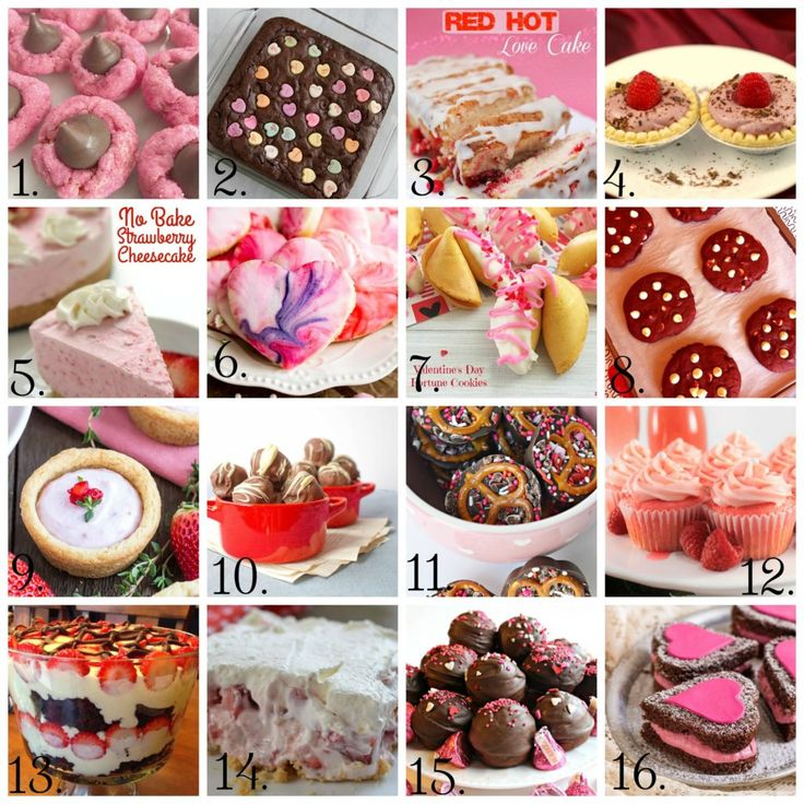 Valentine's Day Recipe Roundup- The Cookin' Chicks