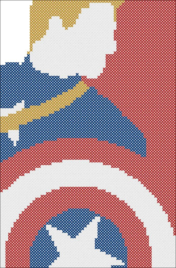 BOGO FREE Cross stitch pattern  Captain от Rainbowstitchcross