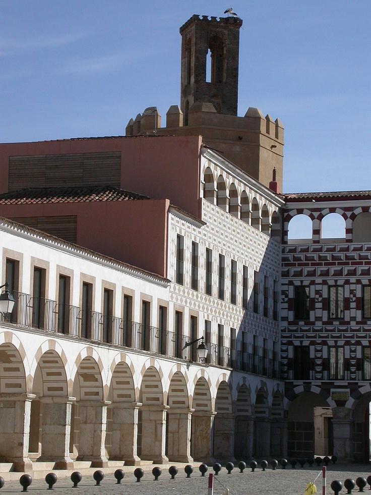 Plaza in Badajoz, Spain