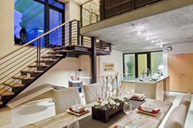 Urban and sophisticated home design in white. Discovered on search.porch.com. #interiordesign #interiors #design #decor