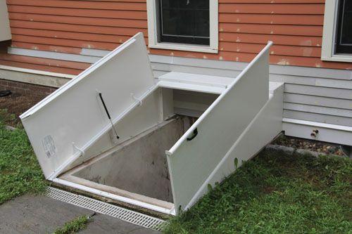 basement bulkhead door