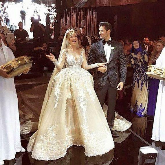 Eliesaab inspired wedding dress