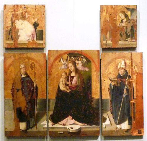 Antonello da Messina, Polittico di San Gregorio, 1473.