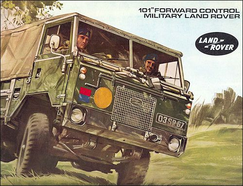 Land Rover 101FC 1972