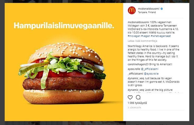 McDonald'silta+joululahja+suomalaisille+vegaaneille:+McVegan-hampurilainen+saataville+koko+maahan+joulukuussa