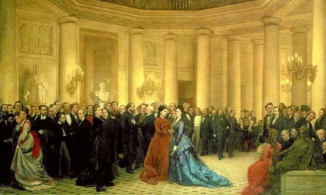 Jean-Raymond-Hippolyte Lazerges, Le Théâtre de l'Odéon, 1869. 라제르주, 오데옹 극장