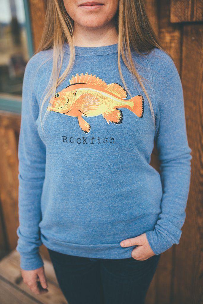 Rockfish Crewneck - Salmon Sisters