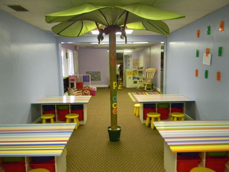 Sunday School Classroom Design Ideas ~ Best kids church rooms ideas on pinterest