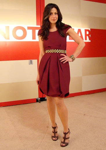 Stacy London Fashion Lookbook: What Not To Wear: TLC  I really love the shape of this skirt
