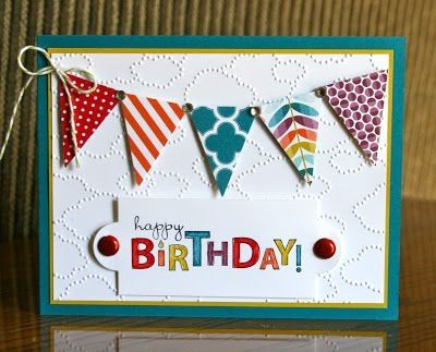 Stampin' Up! Birthday by Krystals Cards and More: Bring on the Cake by katie