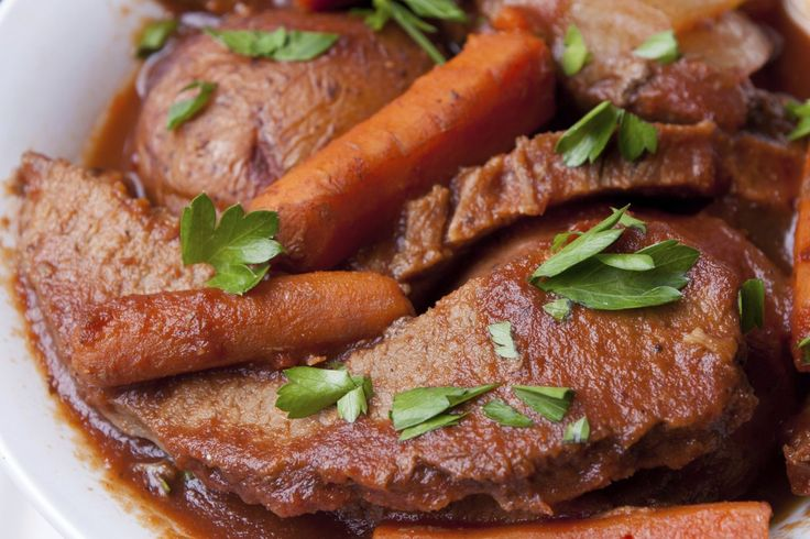 Try This Low Carb Slow Cooker Beef Brisket Recipe With a Twist