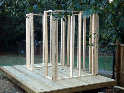 DIY Network: How to Build a Storage Shed