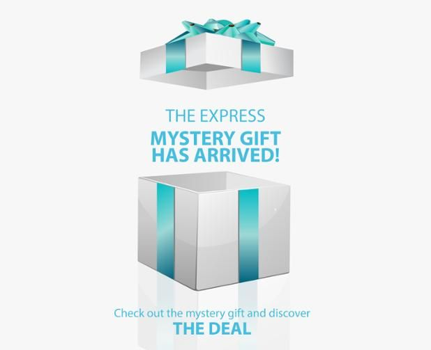 The DEAL, Check Out the Mystery Gift & Discover http://ow.ly/ZRzz3 All new Spring Specials #ExpressWater