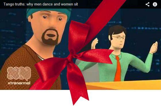В 2010/11 году пользователь ютубапод ником tangocynic, как говорится, взорвал мировую танго-общественность самодельными мультами, герои которыхобменивались ёмкими едкими репликами по самым болезн…