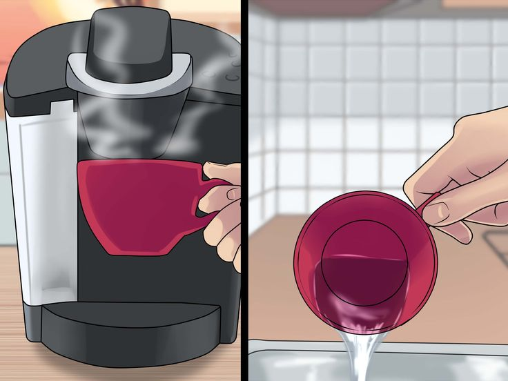 how to clean hard water buildup in keurig