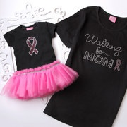 Take a look at the Pink Ribbon Collection by T-Shirt Tutu event on #zulily today! Great clothes for women and little ones to show your support for breast cancer. A portion of the proceeds will go to fund breast cancer research.